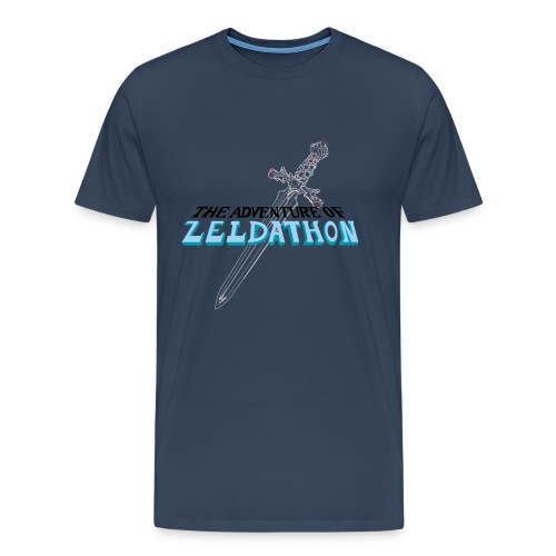 The Adventure of Zeldathon - H - T-shirt Premium Homme