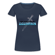Tee shirts ~ T-shirt Premium Femme ~ The Adventure of Zeldathon - F