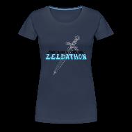 Tee shirts ~ T-shirt Premium Femme ~ The Adventure of Zeldathon - F