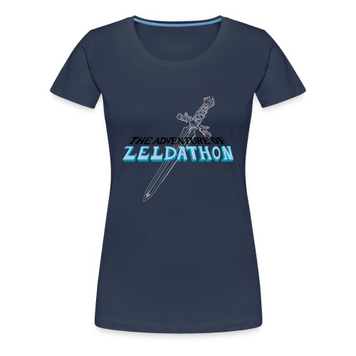 The Adventure of Zeldathon - F - T-shirt Premium Femme