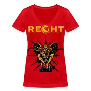 T-Shirt REGHT Cthulhu Femme - T-shirt bio col V Stanley & Stella Femme