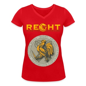 T-Shirt REGHT Coq Femme - T-shirt bio col V Stanley & Stella Femme