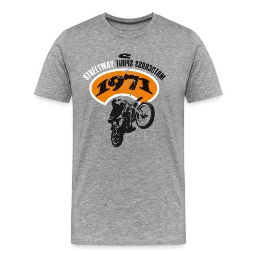 Motocross Spirit - T-shirt Premium Homme