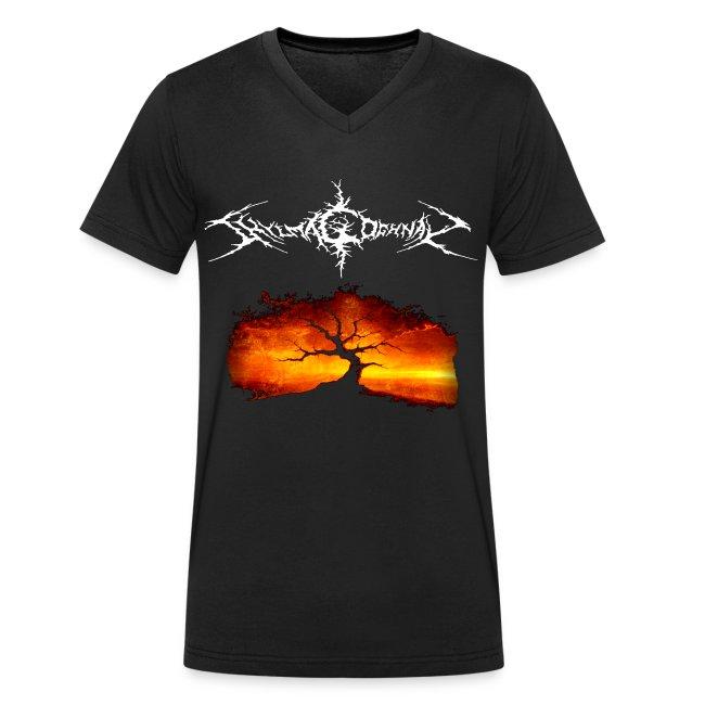 Men's V-Neck T-Shirt (FRONT ONLY)
