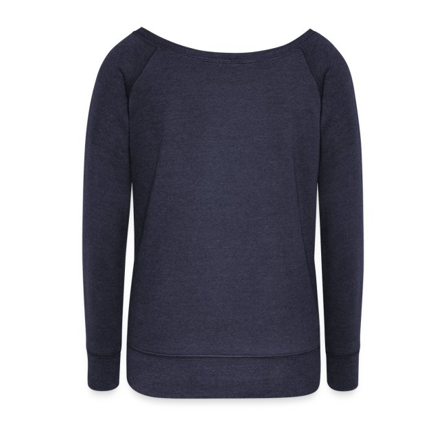 Women's Boat Neck Long Sleeve Top (FRONT ONLY)
