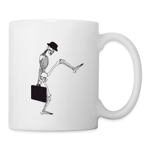 silly walking - Tasse