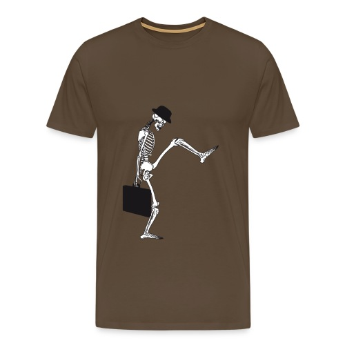 silly walking - Männer Premium T-Shirt