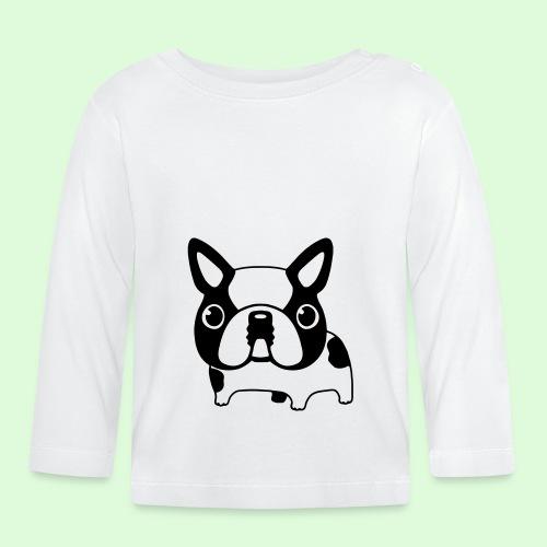 Bouledogue caille - T-shirt manches longues Bébé