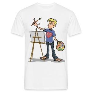 I love Art (male) - Men's T-Shirt