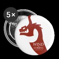 Badges ~ Badge moyen 32 mm ~ Wind is coming