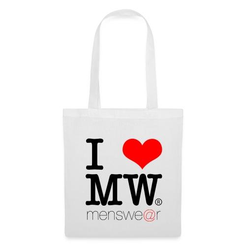 i heart menswe@r tote - Tote Bag
