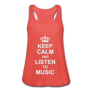 keep_calm_and_listen_to_music_g1 Tops - Frauen Tank Top von Bella