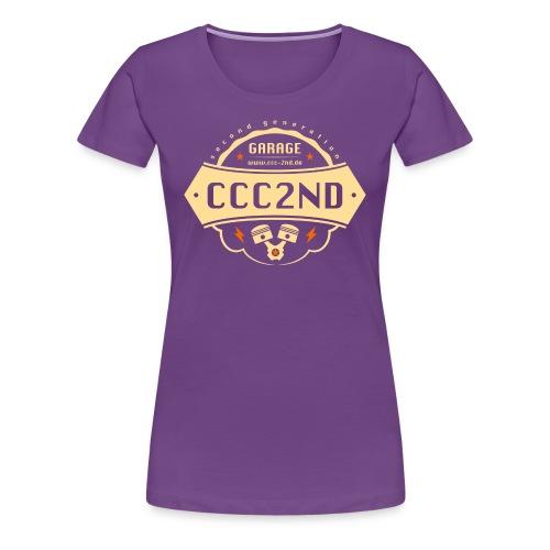 CCC Garage - Frauen Premium T-Shirt