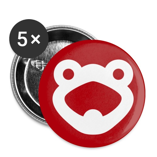 Frogtube Button 32 mm - Buttons mittel 32 mm