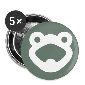 Frogwords Button 25 mm - Buttons klein 25 mm