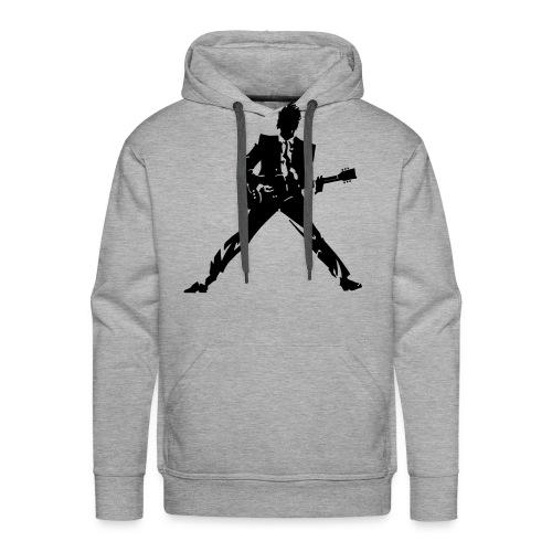 Rock Guitar Player - Men's Premium Hoodie