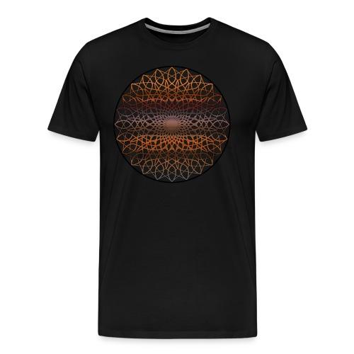 mandala - Premium-T-shirt herr