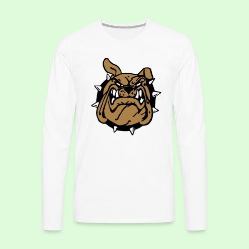 Le sourire du Bulldog (3) - T-shirt manches longues Premium Homme