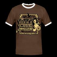T-Shirts ~ Men's Ringer Shirt ~ From Dusk Till Dawn: Titty Twister