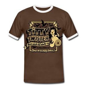 From Dusk Till Dawn: Titty Twister - Men's Ringer Shirt