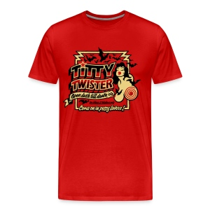 From Dusk Till Dawn: Titty Twister - Men's Premium T-Shirt