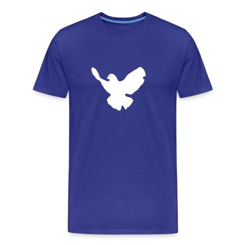 ≡ Friedenstaube 2 Seiten - Männer Premium T-Shirt