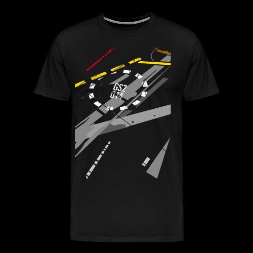 Rollfeld 55 - Männer (slim) - Männer Premium T-Shirt