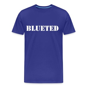 Blueted Text - Tshirt  - Men's Premium T-Shirt