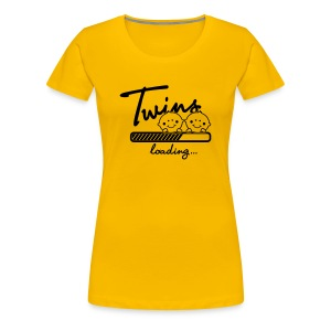 Twins loading... T-Shirts - Frauen Premium T-Shirt