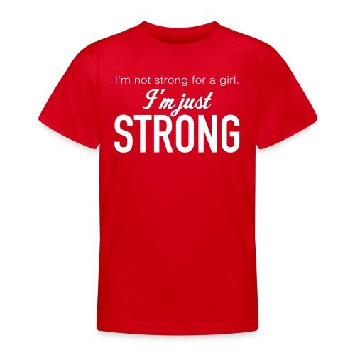 Strong Teenage Premium T-Shirt - Teenage T-Shirt