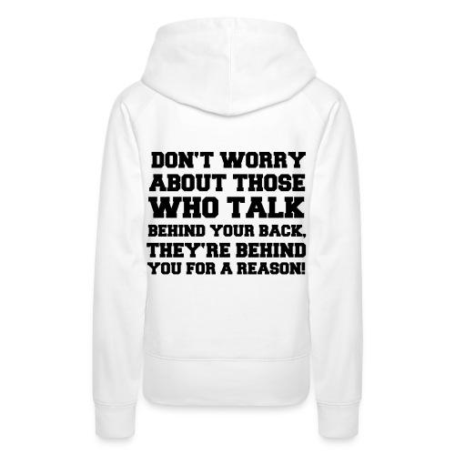 sweater dam - Premiumluvtröja dam