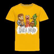 T-shirts ~ Premium-T-shirt barn ~ Bara nöjd citat