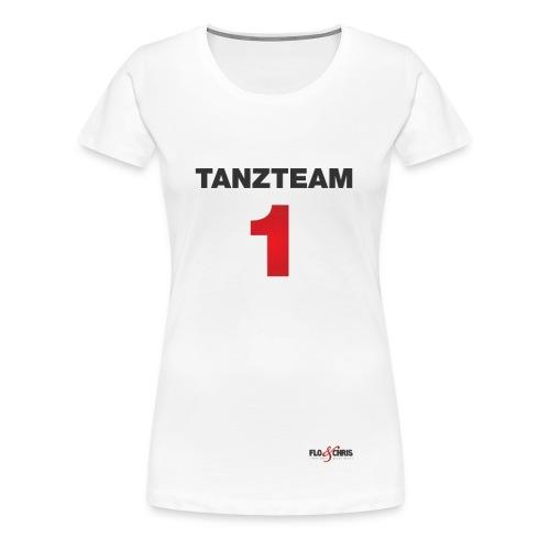Tanzteam 1 - Frauen Premium T-Shirt