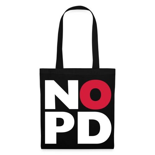 NO NPD Tasche - Stoffbeutel