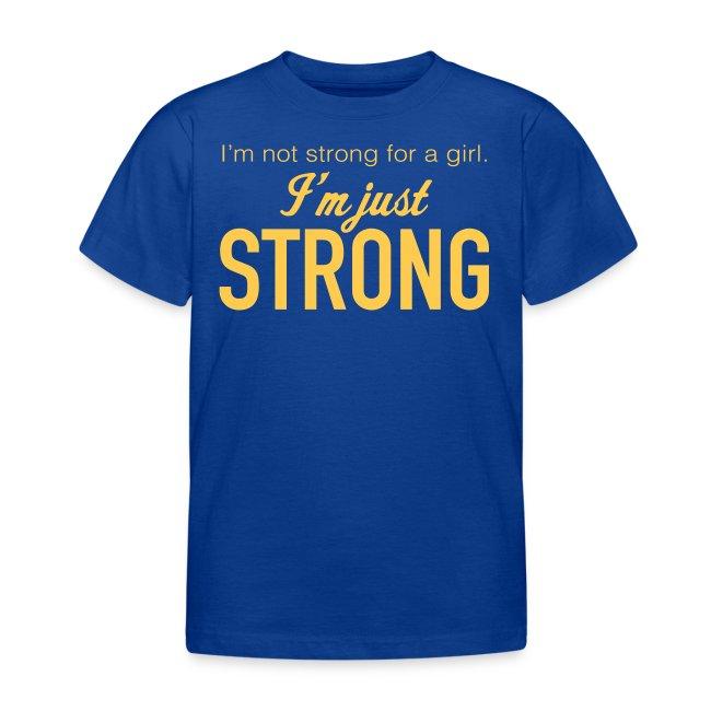 """""""Strong"""" Kids' T-Shirt"""