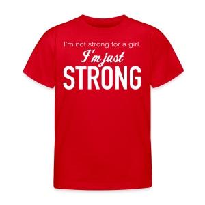Strong Kids' T-Shirt - Kids' T-Shirt