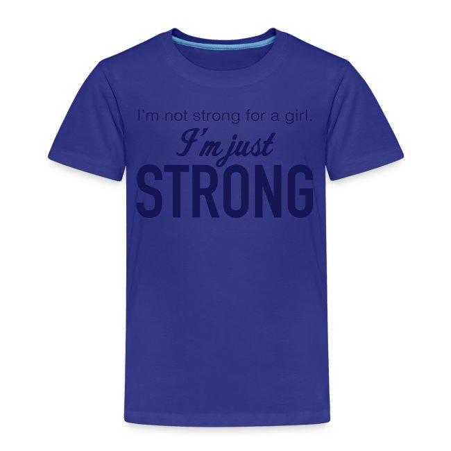 """Strong"" Kids' Premium T-Shirt"