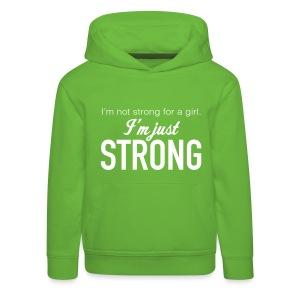 Strong Kids' Hooded Sweatshirt - Kids' Premium Hoodie