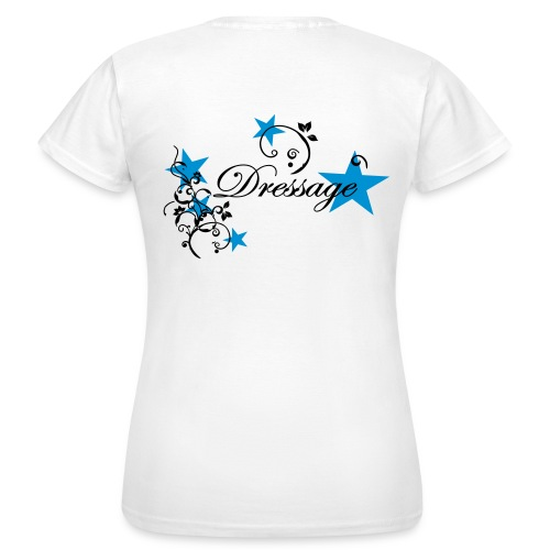 Dressyr T-shirt bak - T-shirt dam
