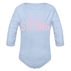 Strong Baby Long Sleeve One Piece - Longsleeve Baby Bodysuit