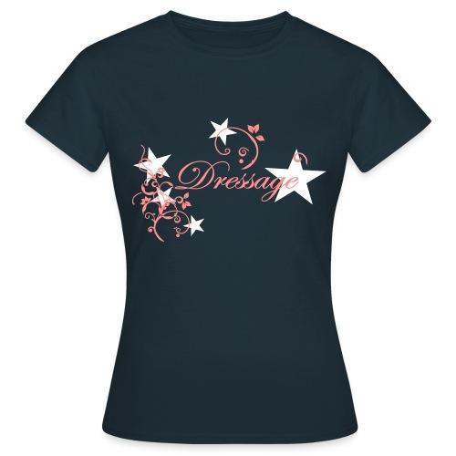 Dressyr T-shirt fram - T-shirt dam