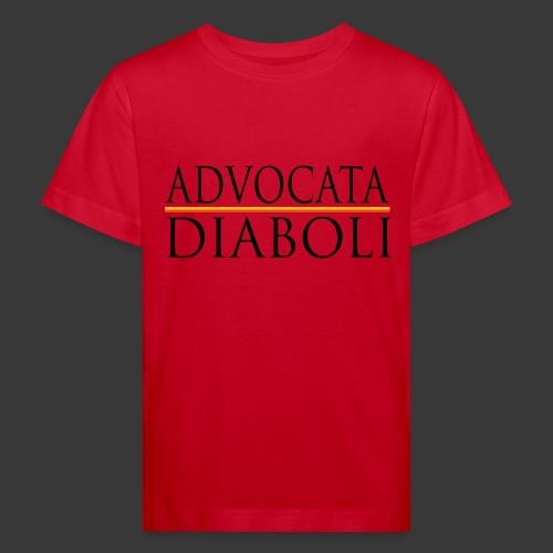 ADVOCATA DIABOLI - Kids' Organic T-Shirt
