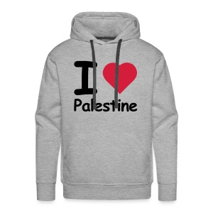 I love palestine - Men's Premium Hoodie