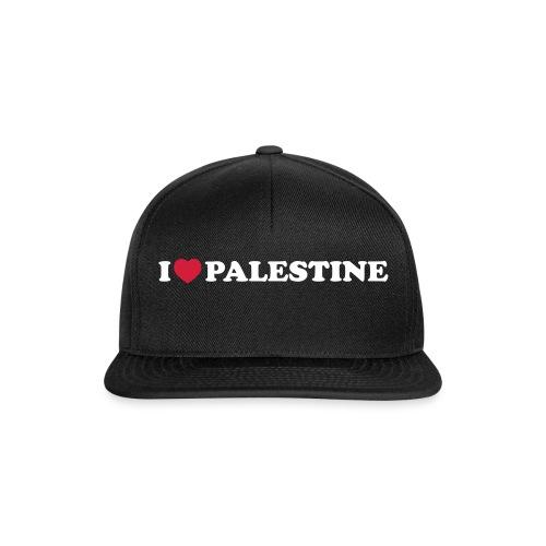 I love palestine cap - Snapback Cap