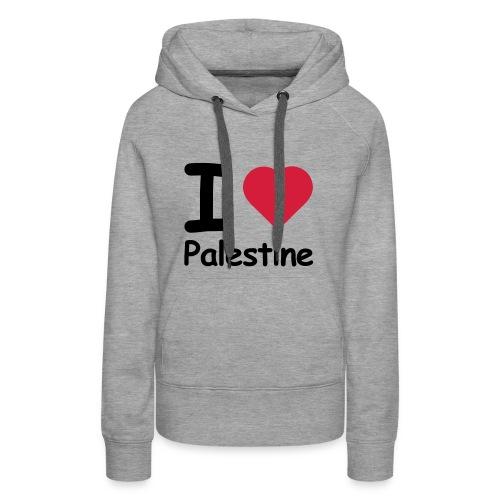 I love palestine - Women's Premium Hoodie