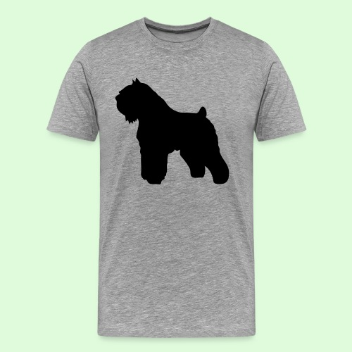 L'ombre du Bouvier des Flandres - T-shirt Premium Homme