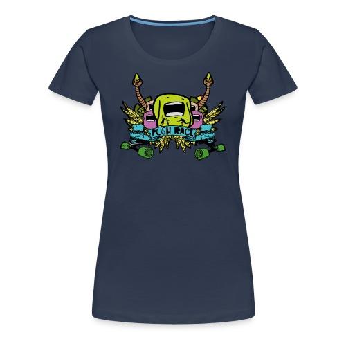 Women Tshirt Push Race by Mata7ik - T-shirt Premium Femme