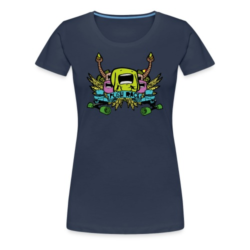 Women Tshirt Push Race by Mata7ik - T-shirt Premium Femme