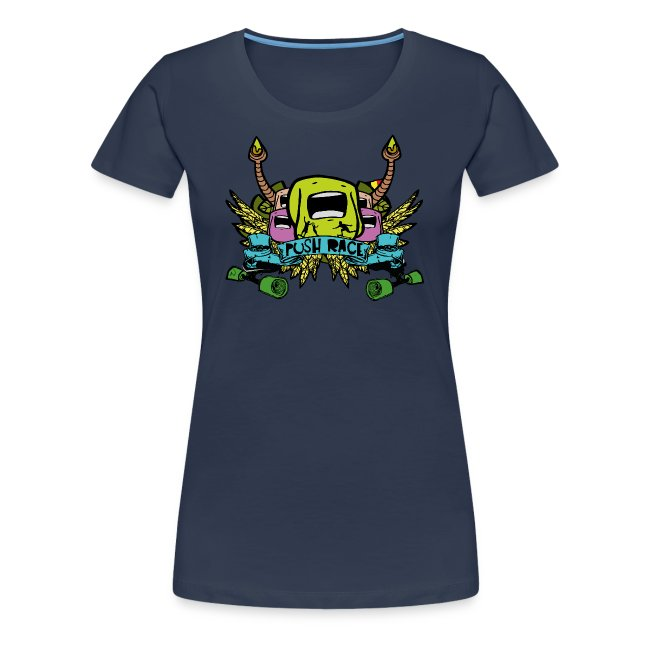 "Women Tshirt ""Push Race"" by Mata7ik"