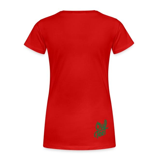 """Women Tshirt """"Push Race"""" by Mata7ik"""